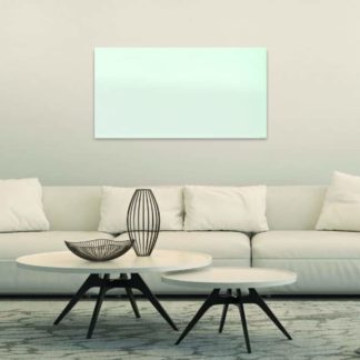 Select XL white glass in living room
