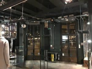 Retail store heating