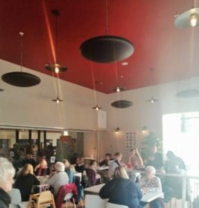 Herschel Pulsar heats cafe area