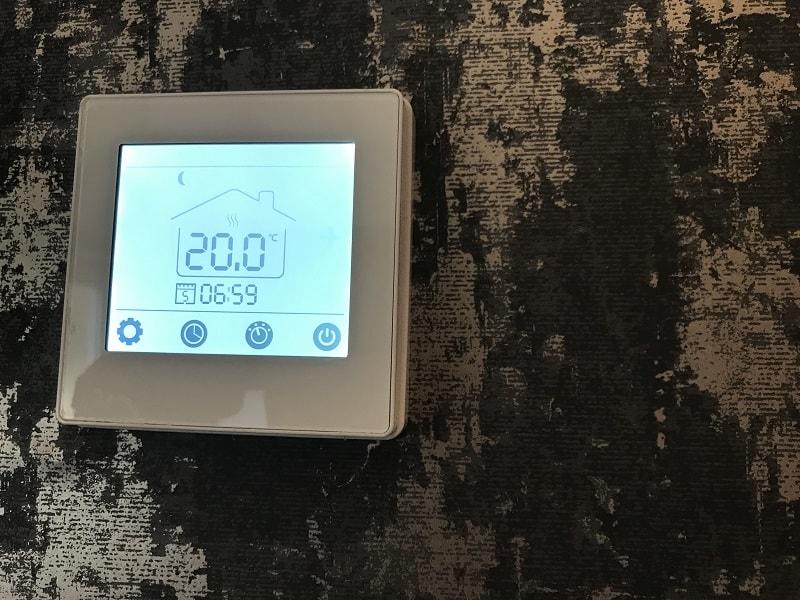 Herschel MD1 hard wired thermostat