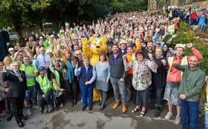 As seen on TV with Pudsey