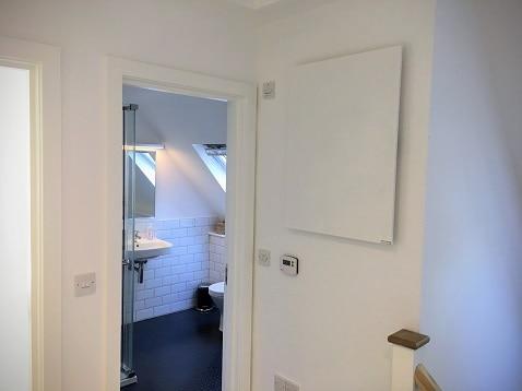 Wall mounted Herschel heating panels