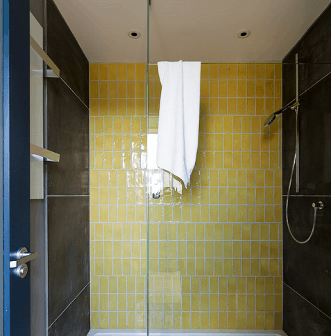 Herschel towel rail in self build