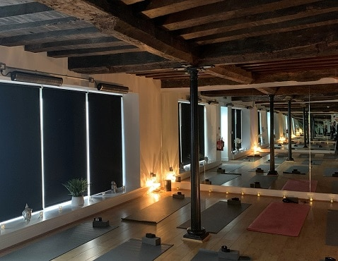 Herschel Aspect heating hot yoga