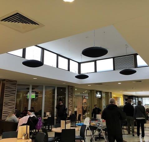 Herschel heaters chosen for shopping mall