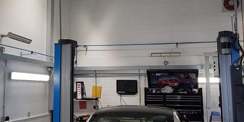 garage workshop heated by Advantage heaters from Herschel