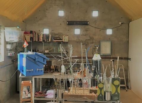 Herschel Aspect XL3 warms a cold garage workshop