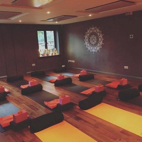 heating yoga studios